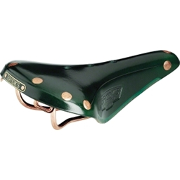 Brooks B17 Special Green with Copper Rails