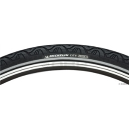 Michelin City Tire - Black with Reflective Sidewall