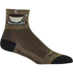 SockGuy Classics Socks - Java Green