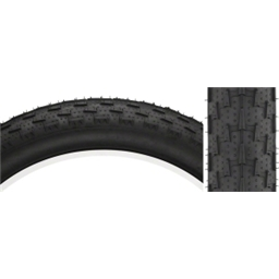 "Surly Larry 26 x 3.8"" Tire 120tp, Black/Black Skinwall"