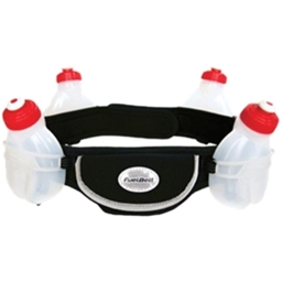 Fuelbelt Endurance 4-Bottle Belt: Black