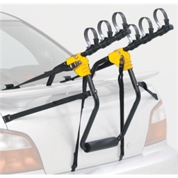 Saris 1052 Sentinel Trunk Rack: 3 Bike