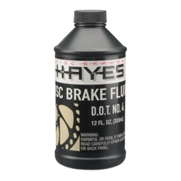 Hayes DOT 4 Brake Fluid, 12oz