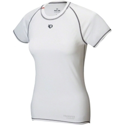 Pearl Izumi Women's Transfer Short Sleeve Top: White