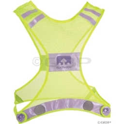 Nathan Reflective Streak Vest Neon Yellow S/M