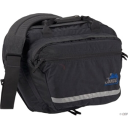 Jandd Commuter Pannier: Left Only; Black
