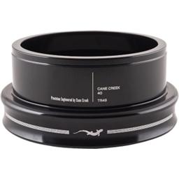 "Cane Creek 40 Series Traditional Headset Bottom 1.5"" Threadless 49mm Black"