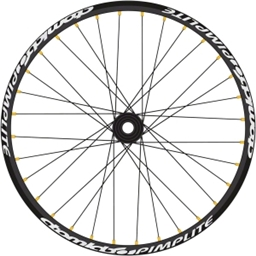 "Atomlab Pimplite 26"" Front Wheel 20mm Black"