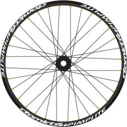 "Atomlab Pimplite 26"" Front Wheel 20mm Black"