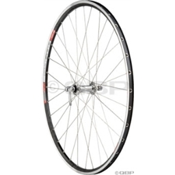 Quality Wheels Front Pro Series 1 Dura-Ace 7900 Silver DT RR465 Black
