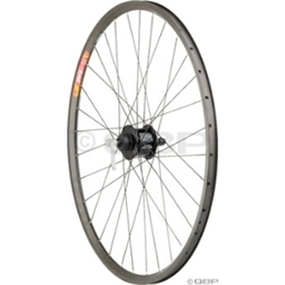Quality Wheels Pavement Series 2, Front Alfine Dynamo, Velocity Dyad Black Reflective