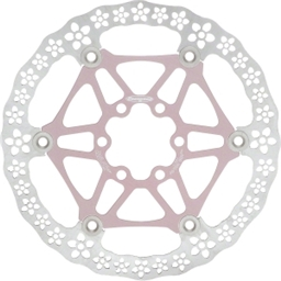 Hope 160mm Floating Rotor Pink w/ Flowers