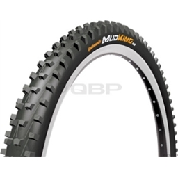 "Continental Mud King Tire 26 x 2.3"" APEX Dual Ply Folding"