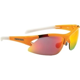 Optic Nerve Apex Sunglasses with 3 Premium Performance Interchangeable Lenses: Orange