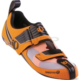 Pearl Izumi Tri Fly Octane Tri Shoe: Safety Orange/Black; Men's