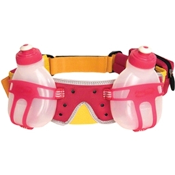 FuelBelt Revenge R20 2-Bottle Hydration Belt: Hawaiian Punch; One Size