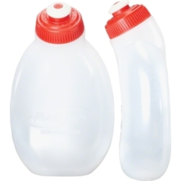 FuelBelt 10oz Water Bottles: 2-Pack; Clear
