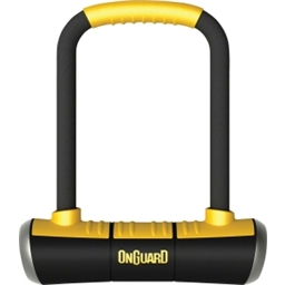 OnGuard Pitbull Medium U-Lock: 3.55 x 6.9""