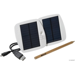 Solio Bolt Solar Charger: White