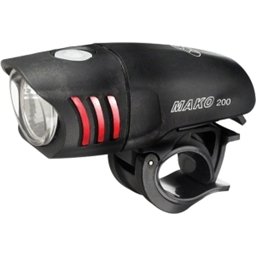 NiteRider Mako 200 Lumen Headlight: Black