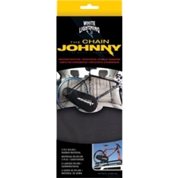 White Lightning Chain Johnny Drivetrain Cover: Black