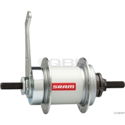 SRAM Automatic 2-speed Hub Coaster Brake: 36-Hole; 120.0mm