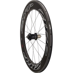 Quality Wheels Power Series 7 Rear Wheel 700c 20h PowerTap G3 / Zipp 808 Clincher (White Decals) / DT Aerolite All Black
