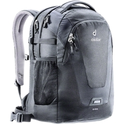 Deuter Giga Office Backpack: Black/Black Shadow