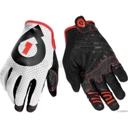SixSixOne Raji Glove: White