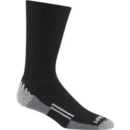 Wigwam Merino/Silk Nomad Sock: Black