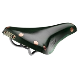 Brooks Finesse Titanium Rail Saddle Green