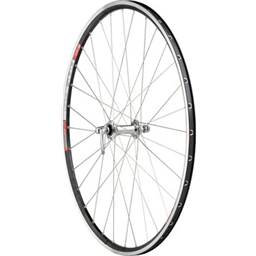 Quality Wheels Road Front Wheel 700c 32h Dura-Ace 7900 Silver / DT RR465 Black / DT Competition Silver