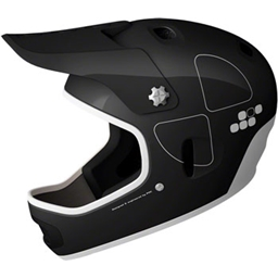 POC Cortex Flow Helmet: Black; MD/LG