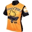 World Jerseys Biker Chick Cycling Jersey: Orange; SM