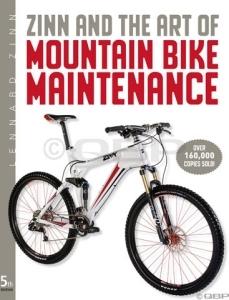 Velo Press Zinn and the Art of Mountain Bike Repair/Maintenance Guide: 5th Edition