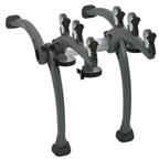 Saris 801 Bones 3-Bike Rack Gray